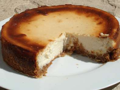 Recipe Hard sheep's cheese cheesecake