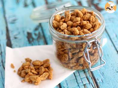 Recipe Candied peanuts, a crunchy snack