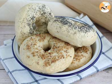 Recipe Bagel buns