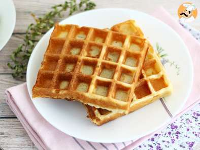 Recipe Light and crunchy waffles