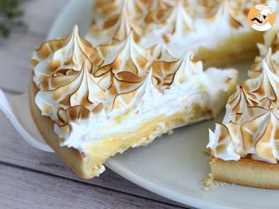 Recipe Lemon meringue pie, the recipe step by step