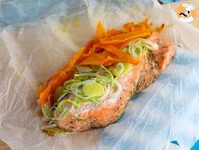 Recipe Salmon in parchment