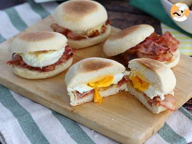 Recipe Egg and bacon muffins