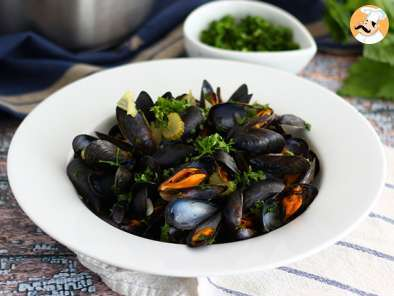 Recipe French mussels