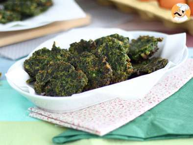 Recipe Easy spinach fritters