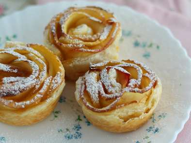 Recipe Apple roses in puff pastry