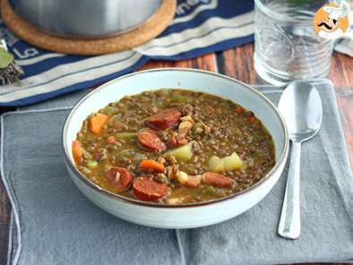 Recipe Spanish lentil soup