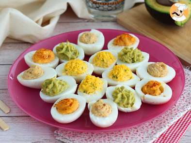 Recipe Deviled eggs, 4 ways