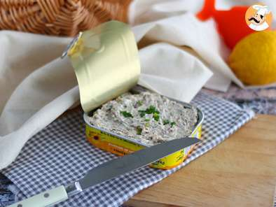 Quick and easy sardine pate