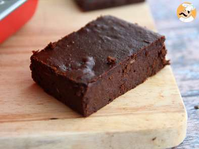 Gluten free chocolate cake with red beans