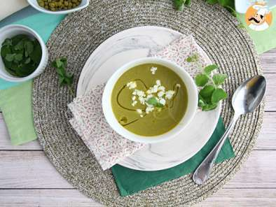 Recipe Pea soup with mint