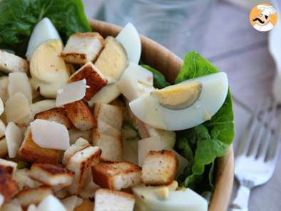 Recipe Caesar salad - the classic recipe