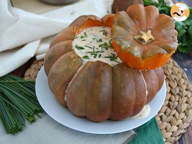 Recipe Pumpkin with shrimps - The Brazilian Camarão na moranga