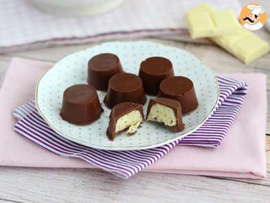 Recipe Kinder Schokobons style chocolates