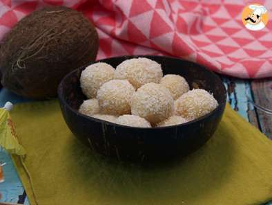 Recipe Coconut balls - brigadeiros with coconut