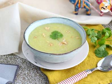 Recipe Leek, coconut and curry soup