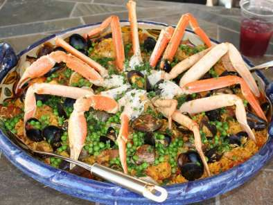 Recipe Paella de Dominique