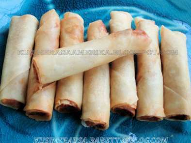 Recipe Lumpia shanghai, filipino spring roll, filipino egg roll