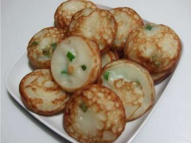 Recipe Coconut rice hotcakes (kanom krok)
