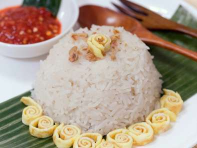 Recipe Nasi uduk - betawinese scented coconut rice
