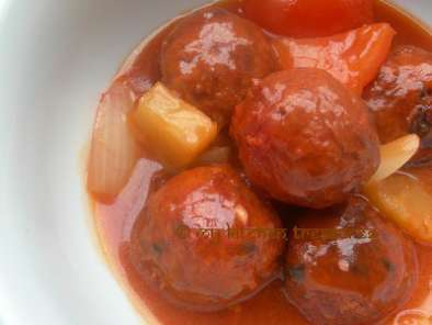 Recipe Sweet and sour chicken balls