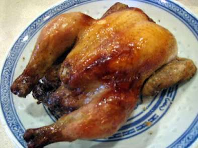 Recipe Salt baked cornish hen