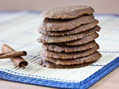 Recipe Cinnamon, cappuccino chocolate thins