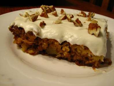 Recipe Pineapple sheet cake with cream cheese frosting (a.k.a. mexican fruit cake)