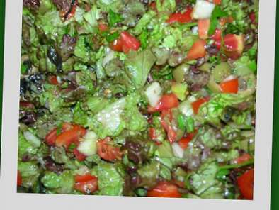 Recipe Tomato-lettuce salad