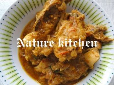 Recipe Chicken curry & chicken kuruma with leftover mint chutney