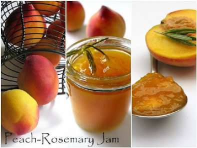 Recipe Fruits in the himalayas...& peach-rosemary jam recipe
