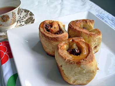 Recipe Mini chelsea buns