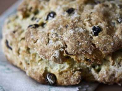 Recipe Sweet irish soda bread (spotted dick or spotted dog)
