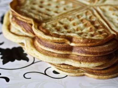 Recipe Norwegian everyday waffles
