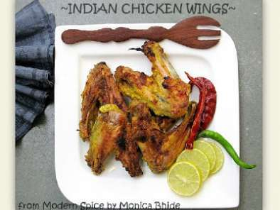 Recipe Indian chicken wings the monica bhide way
