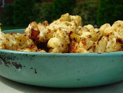 Recipe Roasted cauliflower with fennel - a virtual potluck with monica bhide