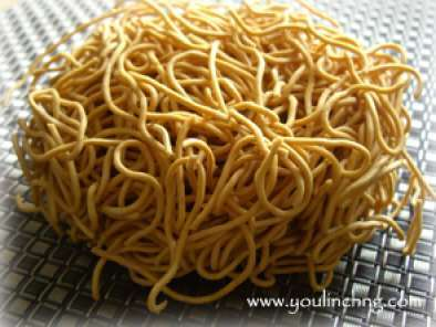 Recipe Chinese sizzling noodles