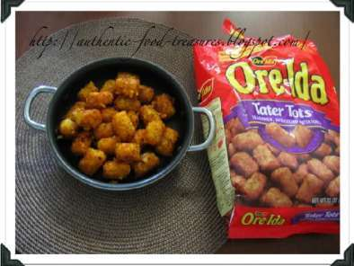 Recipe Tater tots curry (poriyal)