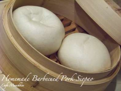 Recipe Homemade barbecued pork siopao (steamed barbecued pork buns)
