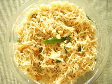 Recipe Angel hair pasta upma