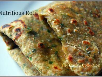 Recipe Paushtic roti (100% whole wheat nutritious flat bread)