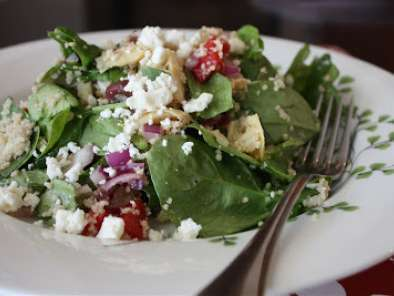 Recipe Spinach couscous salad