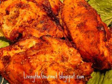 Recipe Oven baked chicken breast with sweet & spicy rub