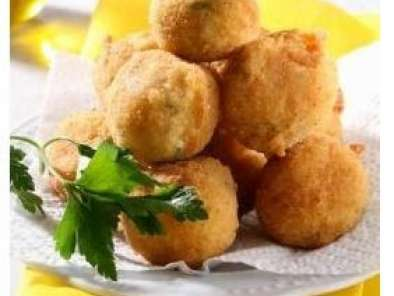 Recipe Evening madness - fried cheese balls