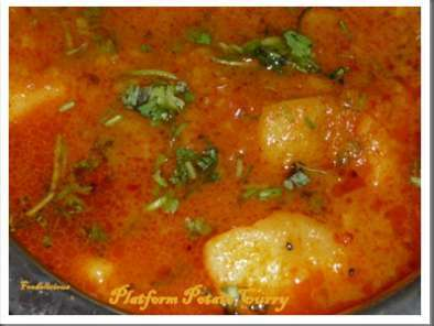 Recipe Platform potato curry(batata rassa) and a few more awards?.