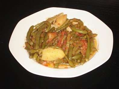 Recipe Greek fresh green beans (fasolakia)