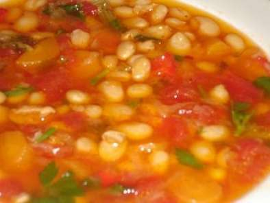 Recipe Greek bean soup - fasolada