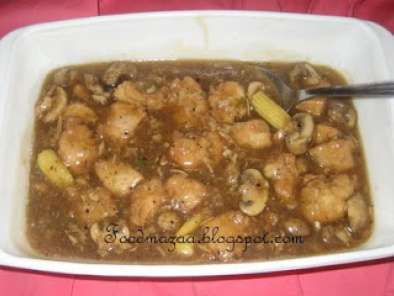 Recipe Chicken manchurian in garlic sauce