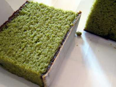 Recipe Green tea kasutera/castella cake