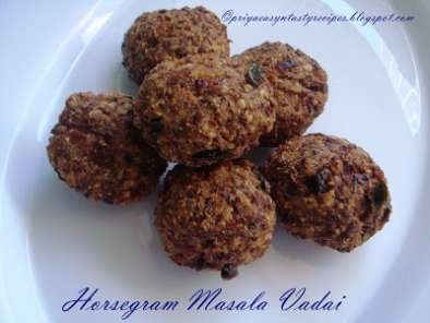 Recipe Horsegram/kollu masala vadai & some awards